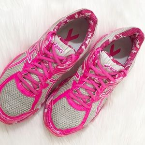 Asics Shoes - ASICS GT 1000 3 PR Breast Cancer Shoes Sneakers 8